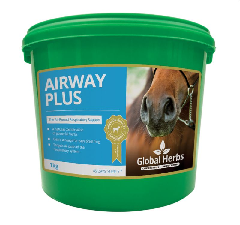 Global Herbs Airway Plus-1kg Tub