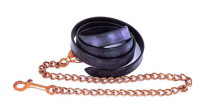 Heritage English Leather Lead And Chain