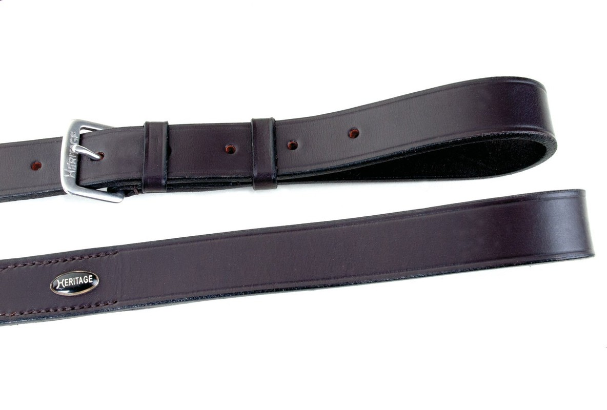 Heritage English Leather Standing Martingale
