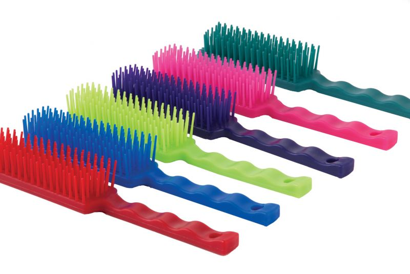 Harlequin Tangle Wrangler Combs-Pack of 6