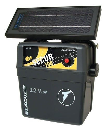 Agrifence Secur 100 Energiser With Solar Kit