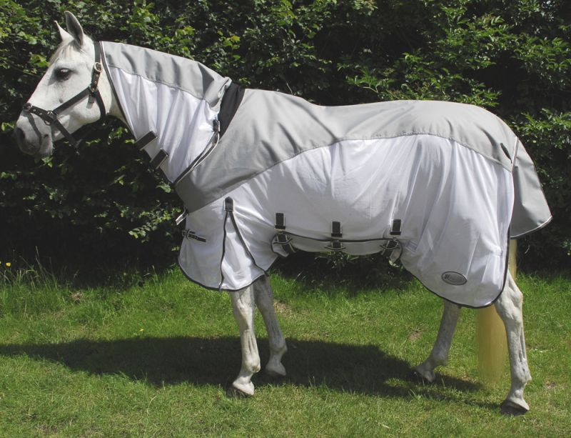Rhinegold Masai2 Full Neck Combined Outdoor/Fly Rug with Waterproof Topline