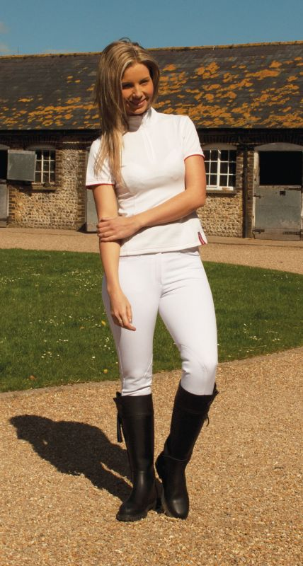 Rhinegold Ladies' Twin Stitched Breeches