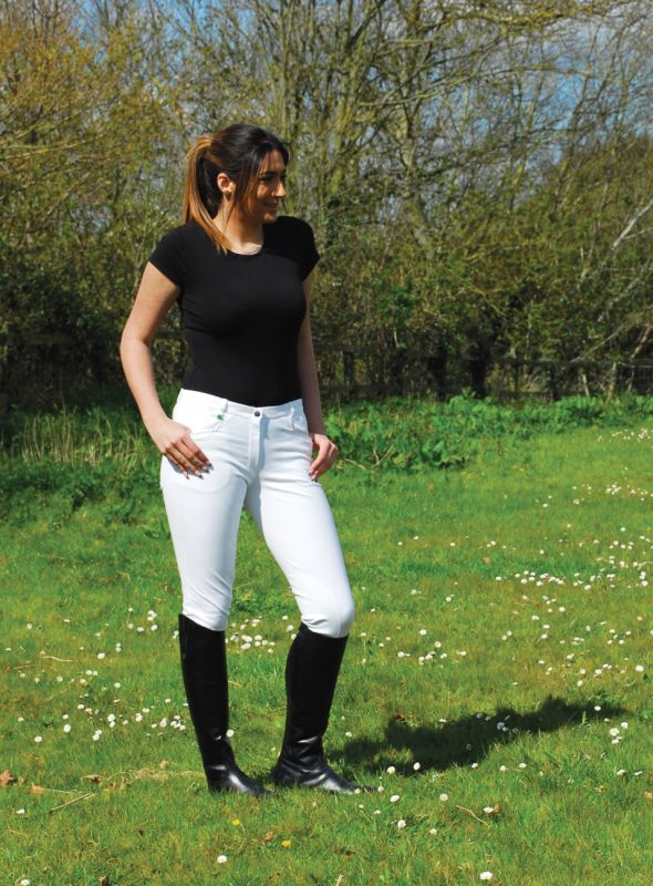 Rhinegold 'Crystal' Twin-Stitched Ladies Breeches