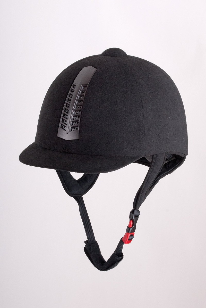 Rhinegold 'Pro' Riding Hat Traditional Finish PAS 015 STANDARD