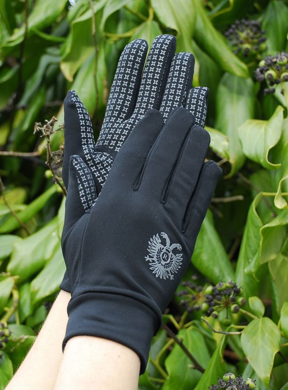 Rhinegold Spandex/Lycra Multi-Purpose Gloves with Silicone Palm