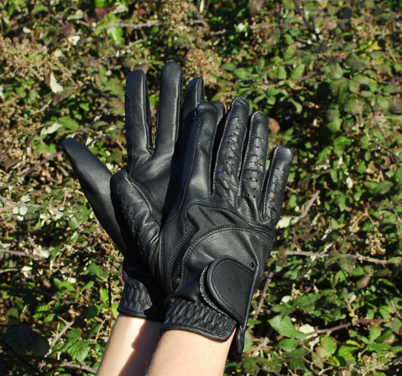Rhinegold Luxe Leather Riding Glove