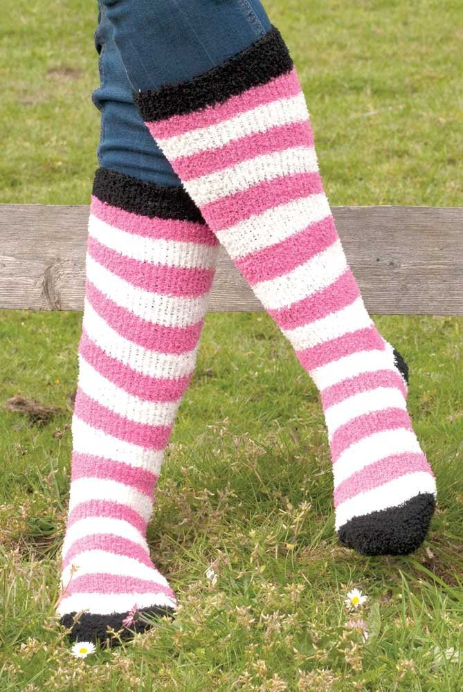 Rhinegold Ladies Soft Touch Knee High Socks