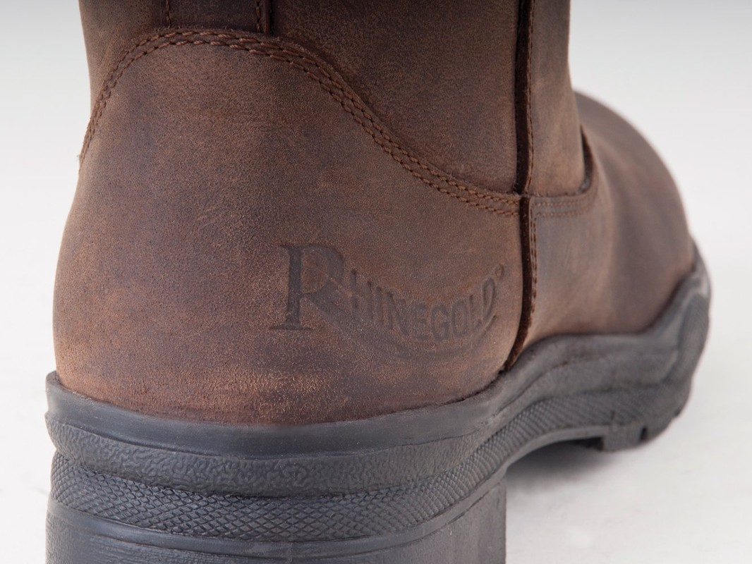 Rhinegold 'Elite' Colorado Leather Country Boots