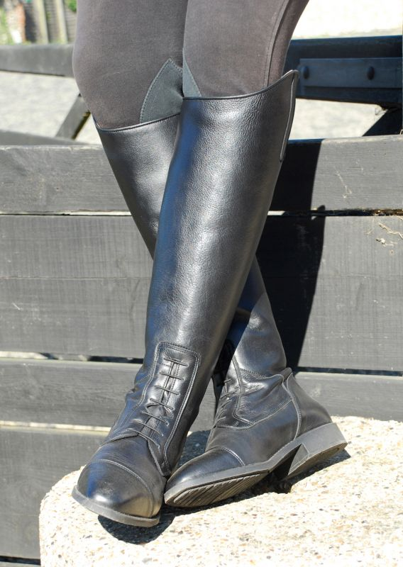 Rhinegold Elite Valencia Long Leather Riding Boots