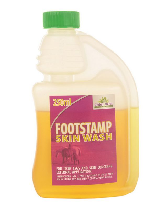 Global Herbs Footstamp Concentrated Wash-250 ml