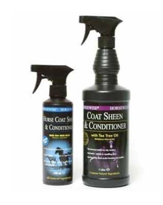 Horsewise Coat Sheen & Conditioner Spray - 350ml