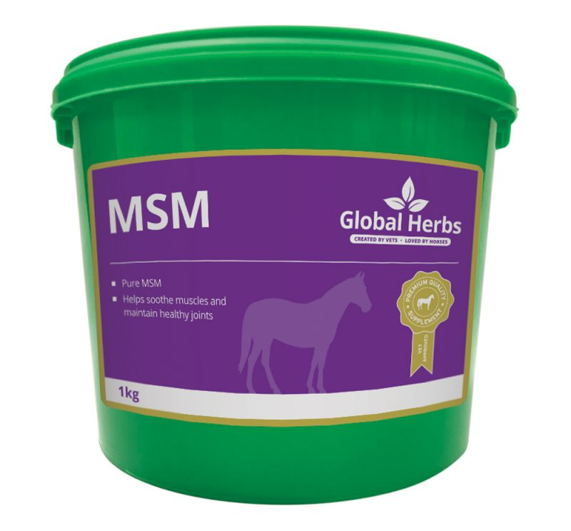 Global Herbs Pure MSM-1kg Tub