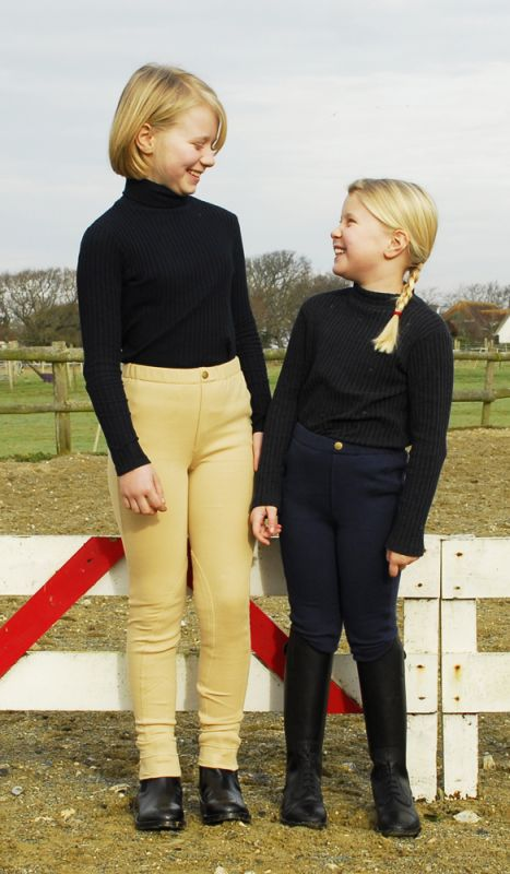 Rhinegold Childrens  Pull On Jodhpurs