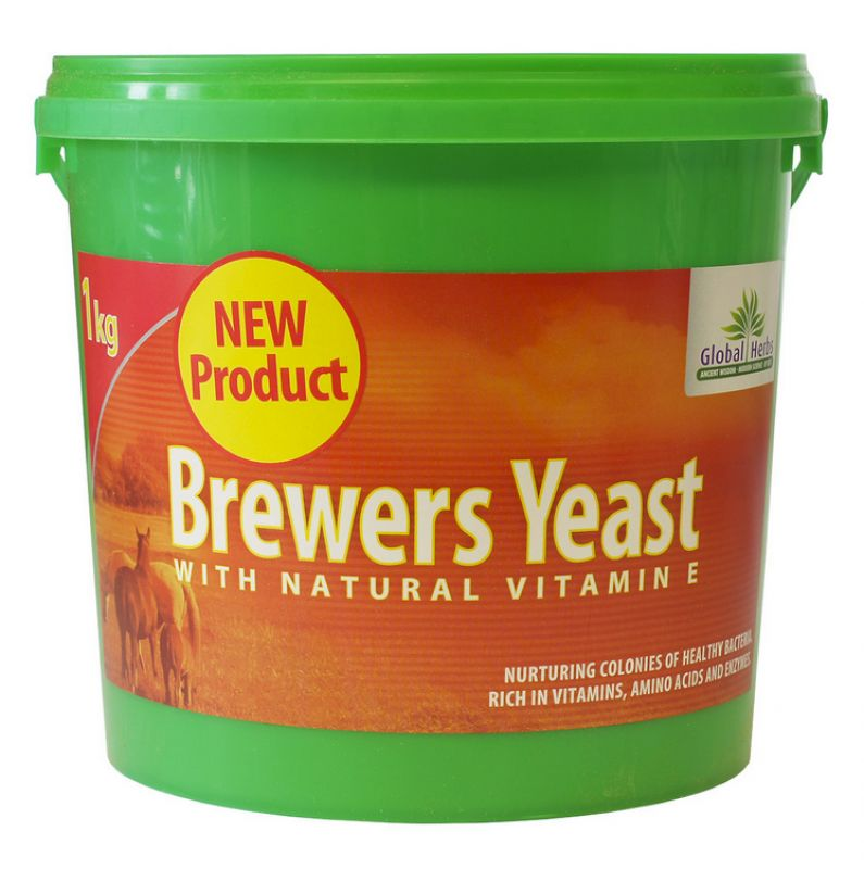 Global Herbs Brewers Yeast - 1kg Tub