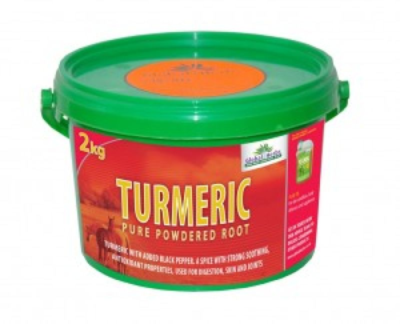 Global Herbs Turmeric - 1.8kg Tub