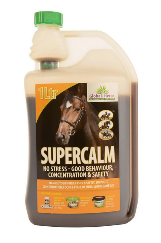 Global Herbs Supercalm Liquid - 1 Litre
