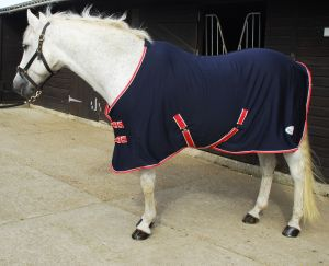 Rhinegold 'Smart- Tec' Jersey Fleece Backed Cooler Rug