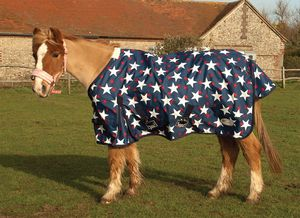Rhinegold 'Star Design Torrent' Outdoor Rug For Foals/Tiny Ponies