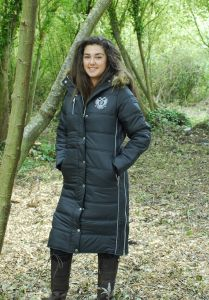 Rhinegold Polar Long Quilted Coat