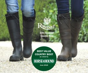 Rhinegold 'Elite' Brooklyn Leather Country Boots