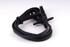 Rhinegold 'Softee' German Leather Wrapped Reins 54""
