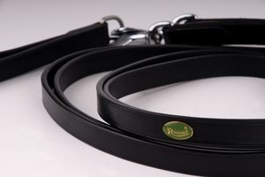 Rhinegold Leather Draw Reins With Elasticated Section