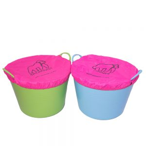 Gorilla Fabric Bucket Covers -Dinner & Breakfast(Pairs)